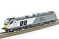 Dapol OO gauge class 68 DRS livery (DS-1)