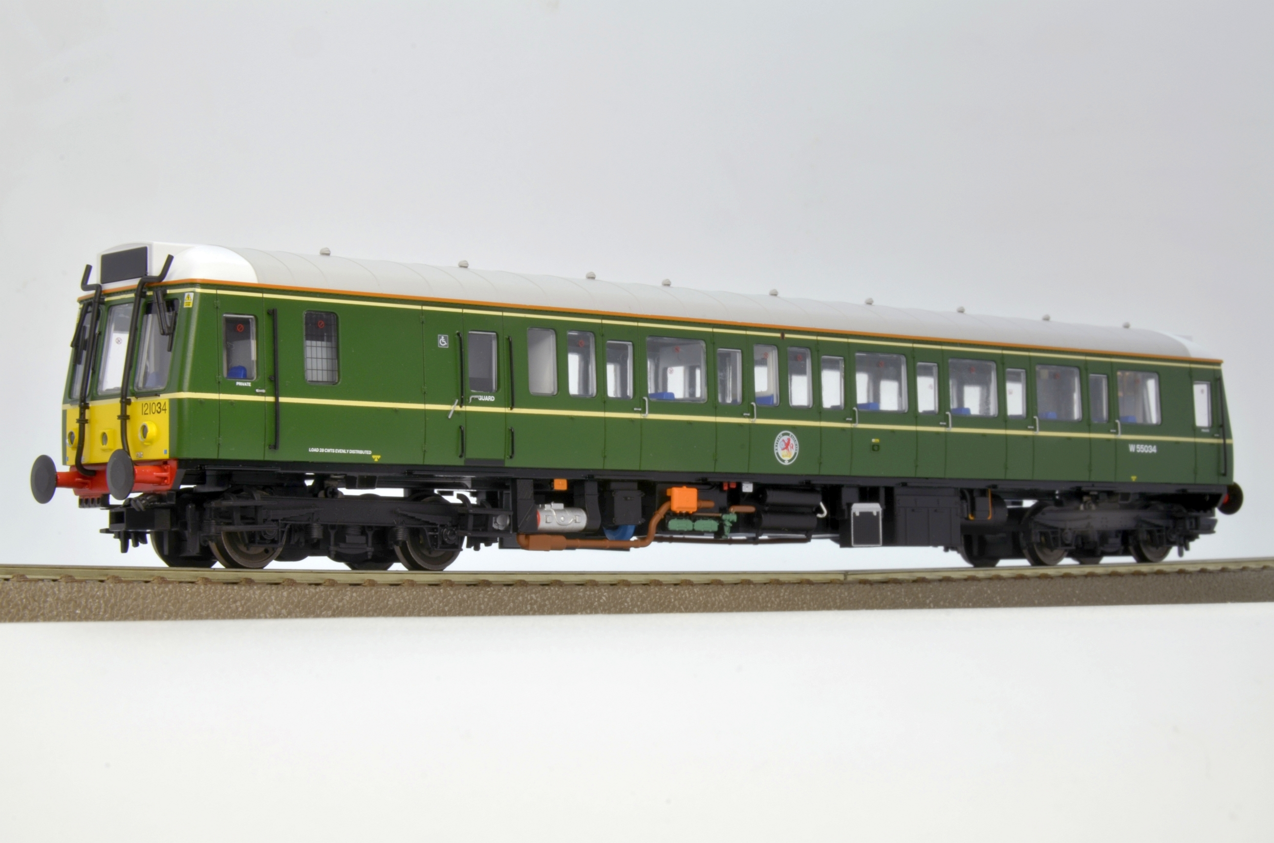 55034 (retirement) Class 121 Special edition for DCC Supplies