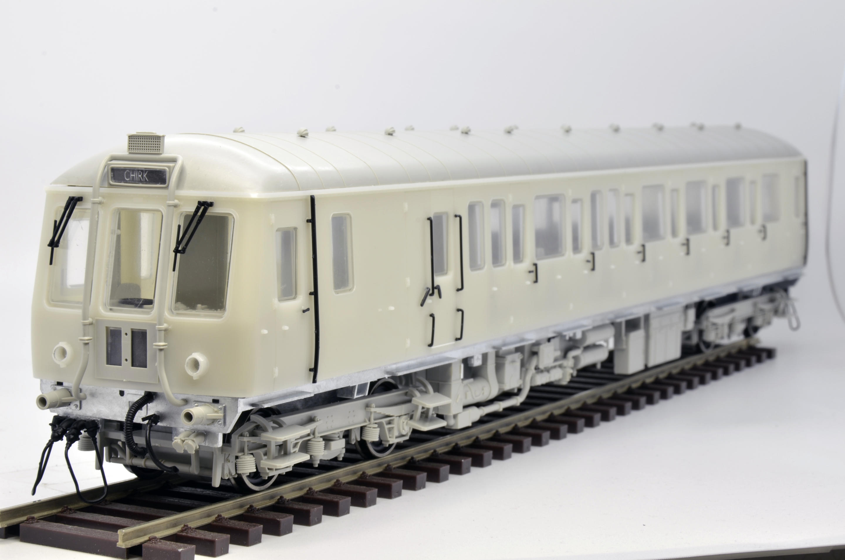 Dapol 'O' Class 122 bubblecar 1st shot sample