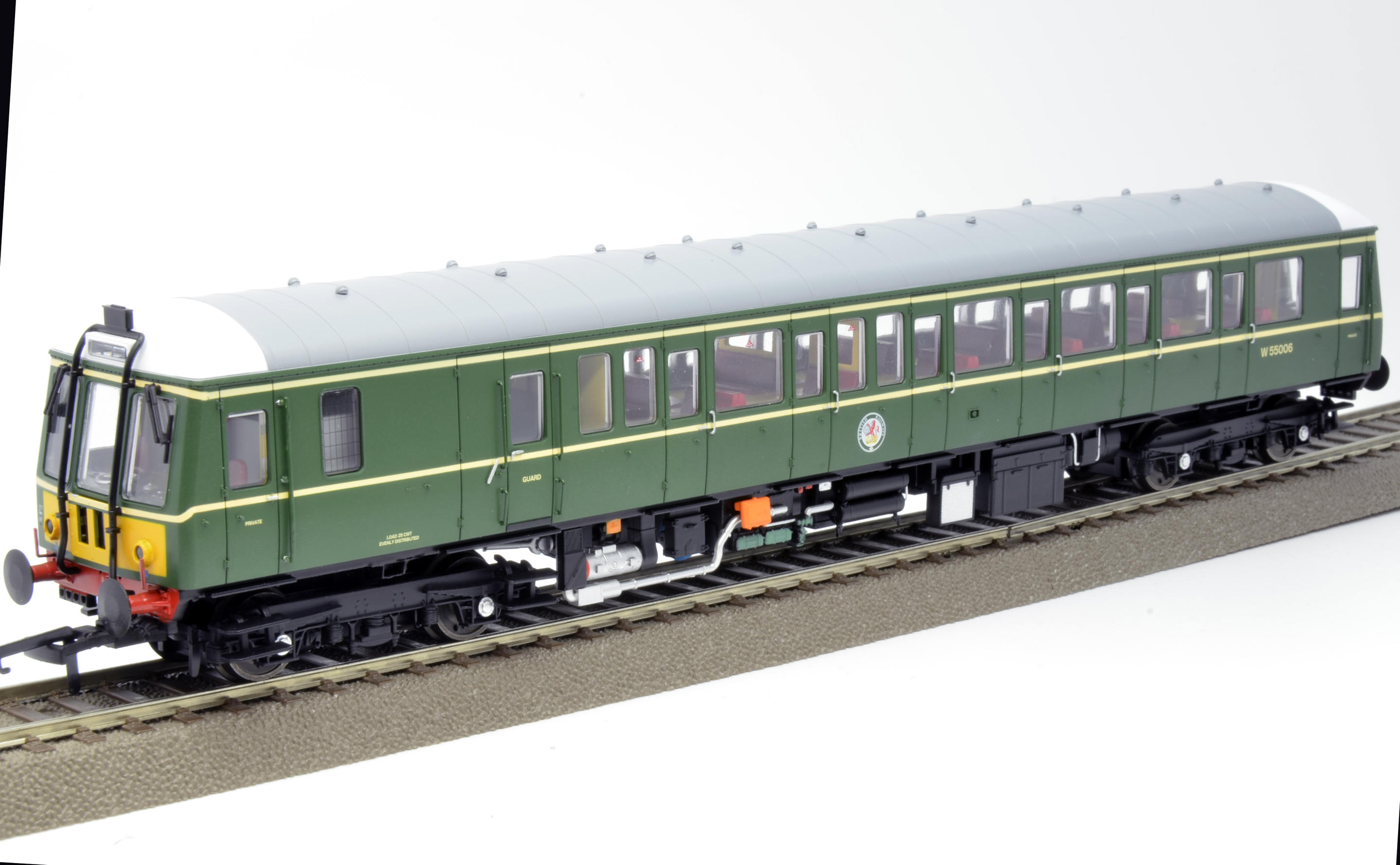 Dapol 4D-015-009 BR Green, Small yellow panel, Early Exhaust
